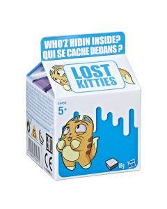 Cutie de lapte cu figurina Lost Kitties