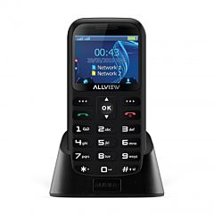 Telefon mobil  D2 Senior Allview, Dual Sim, Black
