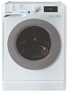 Masina de spalat rufe cu uscator Indesit BDE761483XWSEEN, 7 kg spalare, 6 kg uscare, 1400 rpm, Clasa D, Motor Inverter, Display Digital, Alb