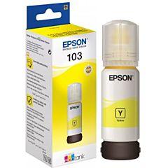 Flacon Epson 103 EcoTank, 70 ml, Galben