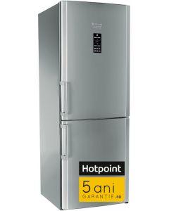Combina frigorifica ENBGH19223FW Hotpoint, 450 litri, clasa A+, Inox*