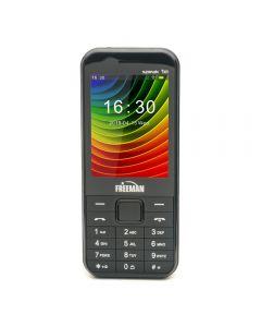 Telefon mobil T305 Freeman Speak, DualSIM, microSD, 72H, Radio Fm, Bluetooth, Negru