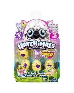 Hatchimals colectibil 4 ousoare si bonus, Seria 3