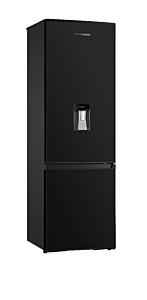 Combina frigorifica Heinner HC-H273BKWD+, 267 Litri, Clasa A+, Dispenser apa, Negru