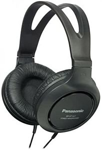 Casti over ear Panasonic RP-HT161E-K, Negru