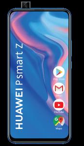 Telefon mobil P Smart Z Huawei, 64 GB, Dual Sim, Saphirre Bleu