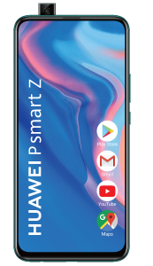 Telefon mobil P Smart Z Huawei, 64 GB, Dual Sim, Emerald Green