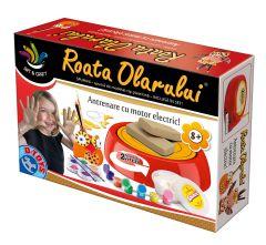 Joc Roata Olarului cu plastilina Spumini, D-toys