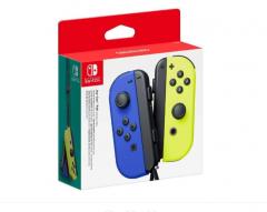 Joy-Con Pair pentru Nintendo Switch Neon Blue & Neon Yellow