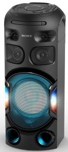 Sistem audio High Power Sony MHC-V42D, Jet Bass Booster, Hi-Fi, Bluetooth, NFC, Dj Effects, USB, DVD, Party music, Party lights, Negru