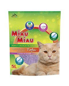 Asternut Miau-Miau Tofu Lavanda 5L