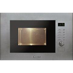 Cuptor cu microunde incorporabil MIC20GDFX Candy, 20 L, 800 W, Grill, Inox