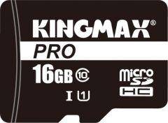 Card de memorie Kingmax microSD + Adaptor 16GB Clasa 10