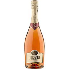 Vin spumant roze, brut, Jidvei, 0.75L