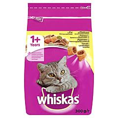 Hrana uscata completa cu pui pentru pisici adulte Whiskas 300g