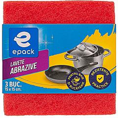 Lavete abrazive Epack, 3 buc.