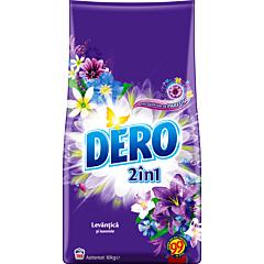 Detergent automat pudra Dero 2 in 1 Lavanda, 100 spalari, 10 kg