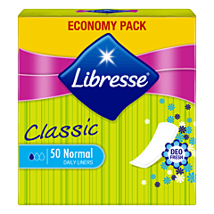 Absorbante zilnice Libresse Classic Normal Deo, 50 bucati