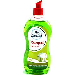 Detergent de vase super degresant, Carrefour Essential mar, 500ml