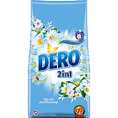 Detergent automat cu parfum de Iris alb, Dero 2in1, 10kg