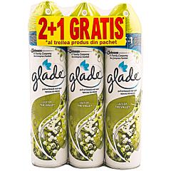 Spray de camera Glade Lily of the Valley 2+1 gratis