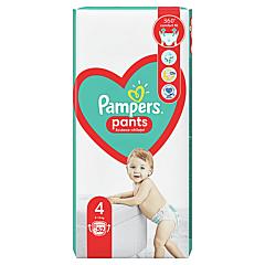 Scutece-chilotel Pampers Pants Jumbo Pack Marimea 4, 9-15 kg, 52 buc