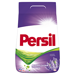 Detergent automat pudra, Persil Active Clean Lavanda, 40 spalari, 4 Kg