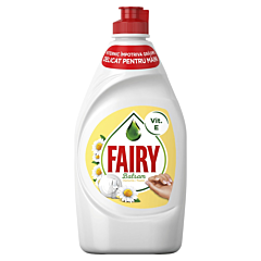 Detergent de vase Fairy Sensitive Chamomile&Vitamin E, 450ml