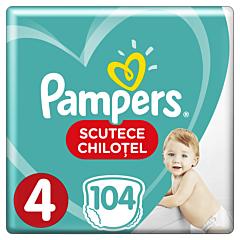 Scutece chilotel Pampers Pants, Marimea 4, 9-14 kg, 104 bucati