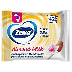 Hartie igienica umeda Zewa Almond Milk 42buc
