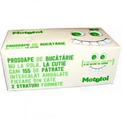 Prosoape de bucatarie Mototol, 2 straturi, 155buc/cutie
