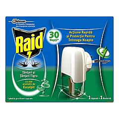 Aparat electric cu lichid eucalipt, anti-tantari Raid 21ml