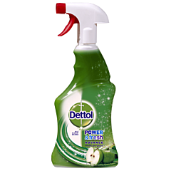 Spray dezinfectant multifunctional suprafete cu mar verde Dettol Power&Fresh 500ml