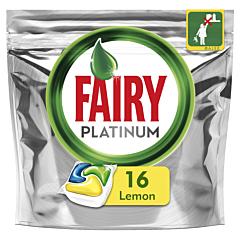 Detergent automat de vase capsule Fairy Platinum, 16 bucati