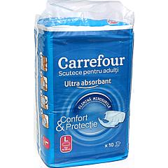 Scutece pentru adulti marimea L Carrefour 10buc