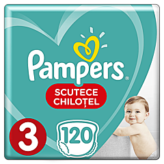 Scutece-chilotel Pampers Pants Mega Box Marimea 3, 6 - 11 kg, 120 buc