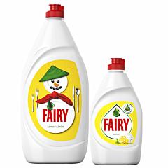 Pachet Detergent de vase, Fairy Lamaie, 1.3l + Detergent de vase, Fairy Lamaie, 450ml