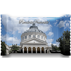 Servetele umede, Romania frumoasa Monumente, 15 bucati