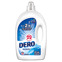 Detergent automat lichid Dero Ozon+ Briza marii, 60spalari, 3L
