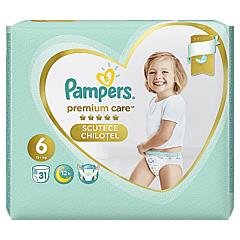 Scutece chilotel Pampers Premium Care Pants, Marime 6, 15+ kg, 31 buc