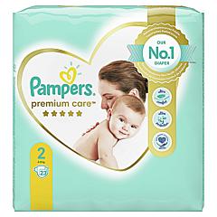 Scutece Pampers Premium Care, Marime 2, 4-8 kg, 23 buc