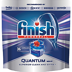Detergent pentru masina de spalat, vase Finish Quantum, 36 tablete