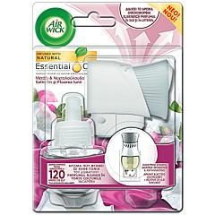 Odorizant de camera freshmatic spray complete, Air Wick Satin & Floarea lunii, 250 ml