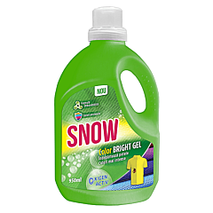 Solutie indepartare pete,  Snow Color Bright Gel, 950 ml