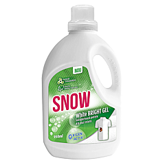 Solutie indepartare pete, Snow White Bright Gel, 950 ml