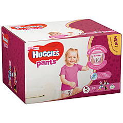 Scutece-chilotel Huggies Pants Fetite, Box (nr 5), 12-17kg, 68 buc
