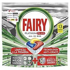 Detergent pentru masina de spalat vase, Fairy Platinum Plus, 13 spalari, 13 bucati