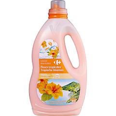 Detergent lichid Carrefour Tropical, 44 spalari, 2.2L