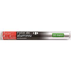 Folie de aluminiu embosata, Carrefour, 30m