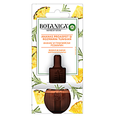 Odorizant de camera + rezerva electrica Botanica ananas proaspat & rozmarin Tunisian, 19 ml